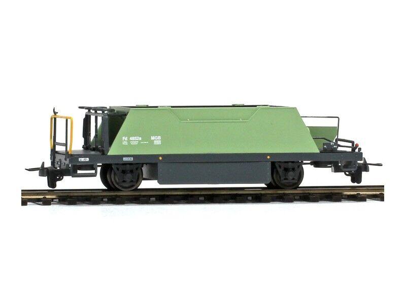 BEMO 2253262 carri merci Ballast carrello FD 4852 MGB h0m