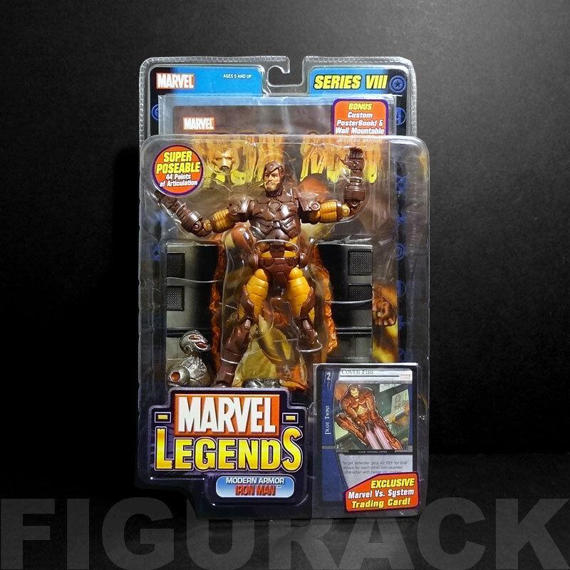 Marvel - legenden, reihe reihe reihe 8 moderne rstung iron - man - 6  action - figur (toybiz) 3c546a
