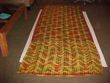 NEW MAROON Green Gold BREATHTAKING Sari STUNNING Fabric DRAPE Exotic SAREE Panel