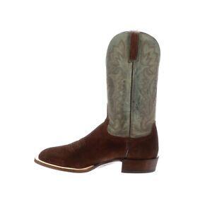 Bottes-western-mexicaines-en-daim-et-cuir-Cowboy-pour-hommes-a-la-main