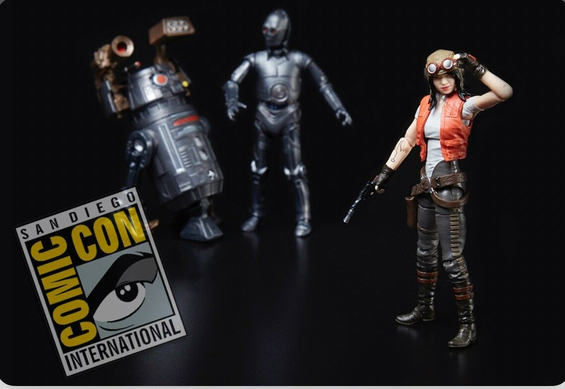 2018 SDCC EXCLUSIVE HASBRO STAR WARS DOCTOR APHRA OOO BT-1 SPECIAL 3 FIGURE SET
