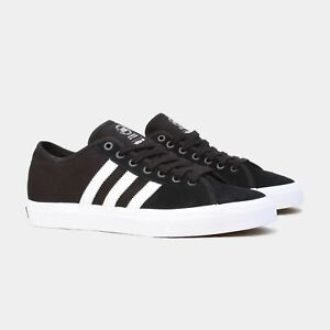Details about ADIDAS MATCHCOURT RX BLACK / WHITE SKATEBOARD SHOES SUEDE CANVAS NEW BY3201 AUS