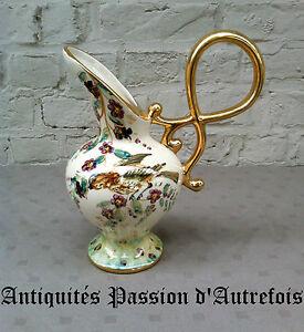 Avoir Un Esprit De Recherche B2016511 - Vase , Aiguillére En Faïence De Saint Ghislain - Belgique