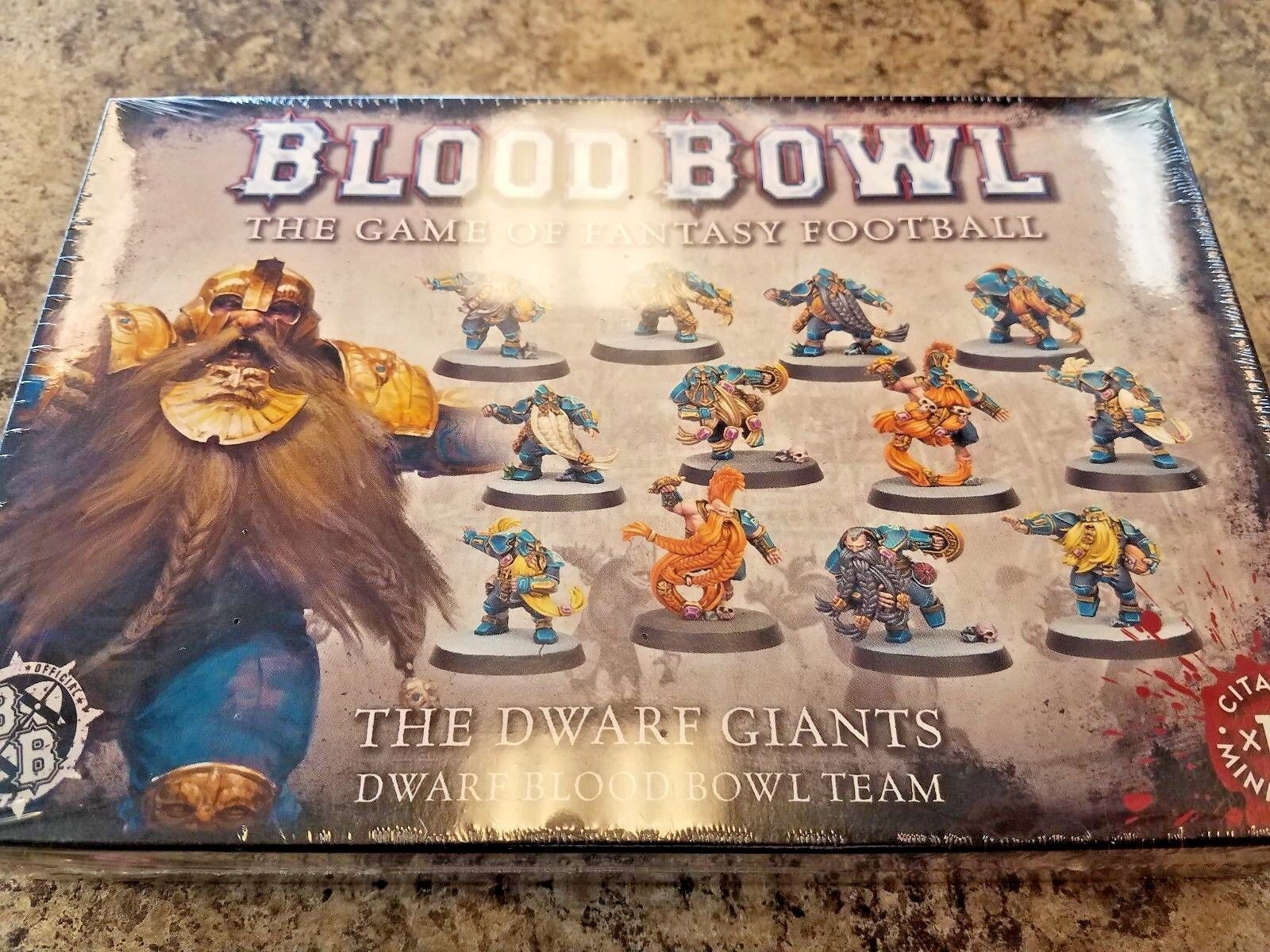 Blood Bowl The Dwarf Giants Team Games Workshop Warhammer New