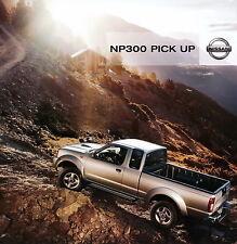 Prospekt Nissan NP300 Pick Up 2011 Autoprospekt Auto PKWs 5 11 brochure Japan