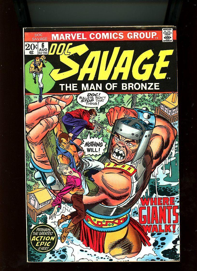 "#4 to #8 BX78 /""Doc Savage: Man of Bronze/"",1973-74 Marvel U-Pick FN//VF TO VF"