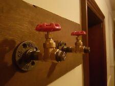 1/2 Ferro Malleabile Industriale Rustico iron pipe Wall Mounted rubinetto Asciugamano Appendiabiti
