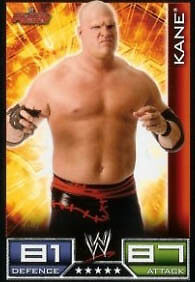 Official WWE Slam Attax Paul Burchill Raw Card