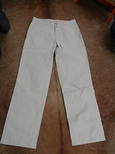 GANT-Herrenhose-Jeans-beige-100-Baumwolle-Gr-34-34