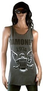 Top Vintage Tunk 1974 Wow Designer Shirt Ramones Amplified Eagle Adler S Tank zXXUSq