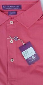 Martin Solid Super Soft /& Lightweight Cotton//Spandex Short Sleeve Shirts NWT