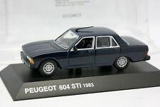 Norev Presse 1/43 - Peugeot 604 STI Bleue