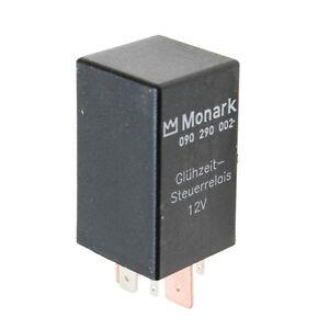 70A glow time contol relay MONARK Glühzeit Relais Steuergerät 12V