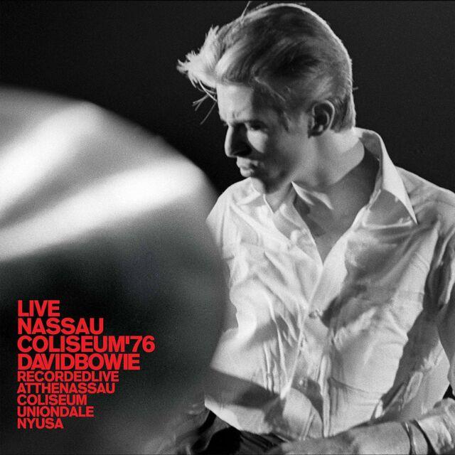 David Bowie Live Nassau Coliseo '76 (2017) 15-track 2 Cds Álbum Nuevo/Sellado