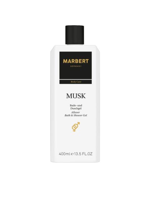 MARBERT Body Care MUSK Bade - und Duschgel Bath & Showergel 400 ml