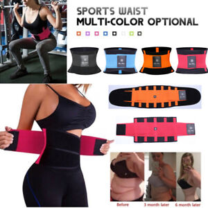 US-Xtreme-Power-Belt-Slimming-Sweat-Thermo-Sport-Abs-Body-Shaper-Waist-Trainer
