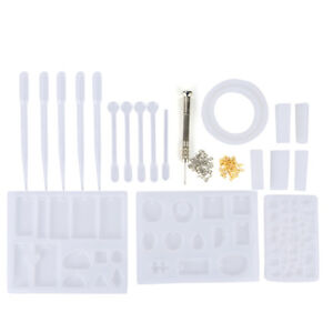 Image Is Loading Resin Casting Mold Kit Silicone Making Jewelry