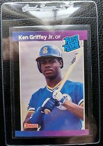 Details About 1989 Donruss 33 Ken Griffey Jr Rookie Card Rc Seattle Mariners Hof Mint