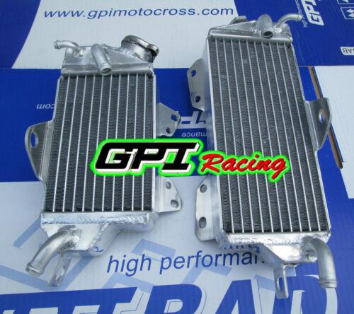 aluminum Radiator Kawasaki KX125 KZ125 1990-1992 1991 92 91 90