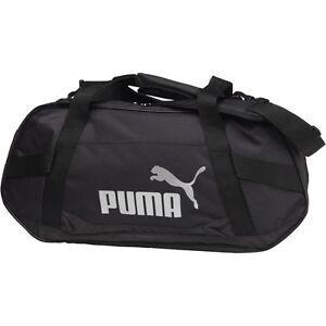 Image is loading Puma-Mens-Active-Training-Small-Duffle-Bag-Black- 5543200420