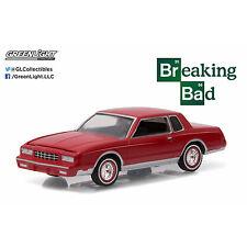 Greenlight 1982 Chevrolet Monte Carlo 2 Doors Breaking Bad 1:64 Red 44730-D