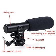 Digital Video Professional Studio / Stereo Recording 3.5mm Camera Microphone