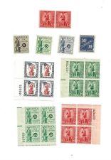 U S Stamp postal/war savings issues small lot mint cv 96.25