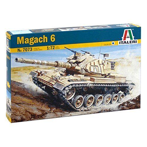 Magach 6 Tank Plastic Kit 1:72 Model 7073 ITALERI