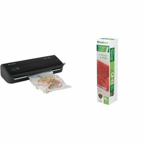 Black Foodsaver FM2000 Vacuum Sealer System