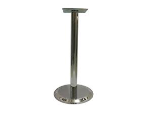 Chrome Table Base Leg For Restaurant Cafe Bar Club Round - Cafe table legs