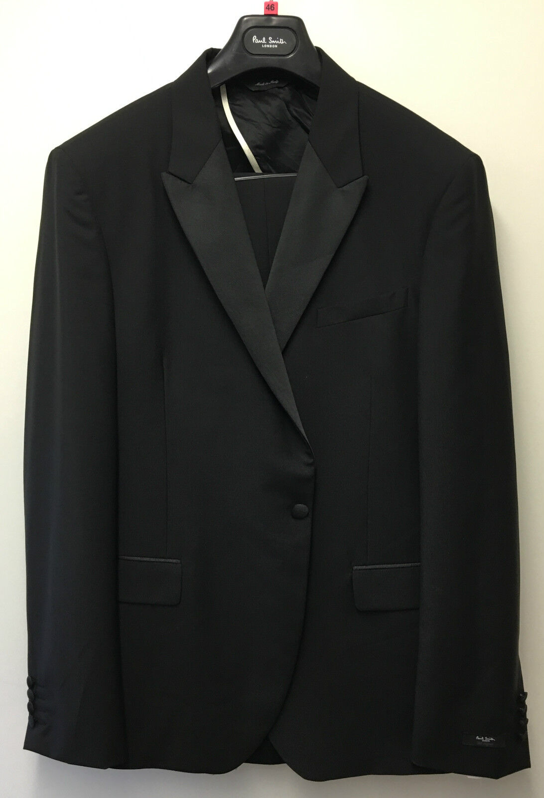 Paul Smith Evening Suit BYARD 84% Wool 16% Mohair TailoROT Fit UK46R