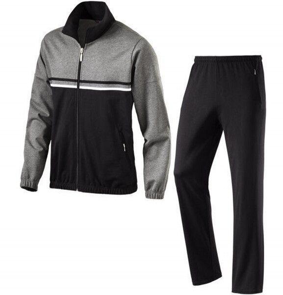 Schneider Herren Sport Freizeit Trainingsanzug JÜRGEN Nano Cotton Grau Regular