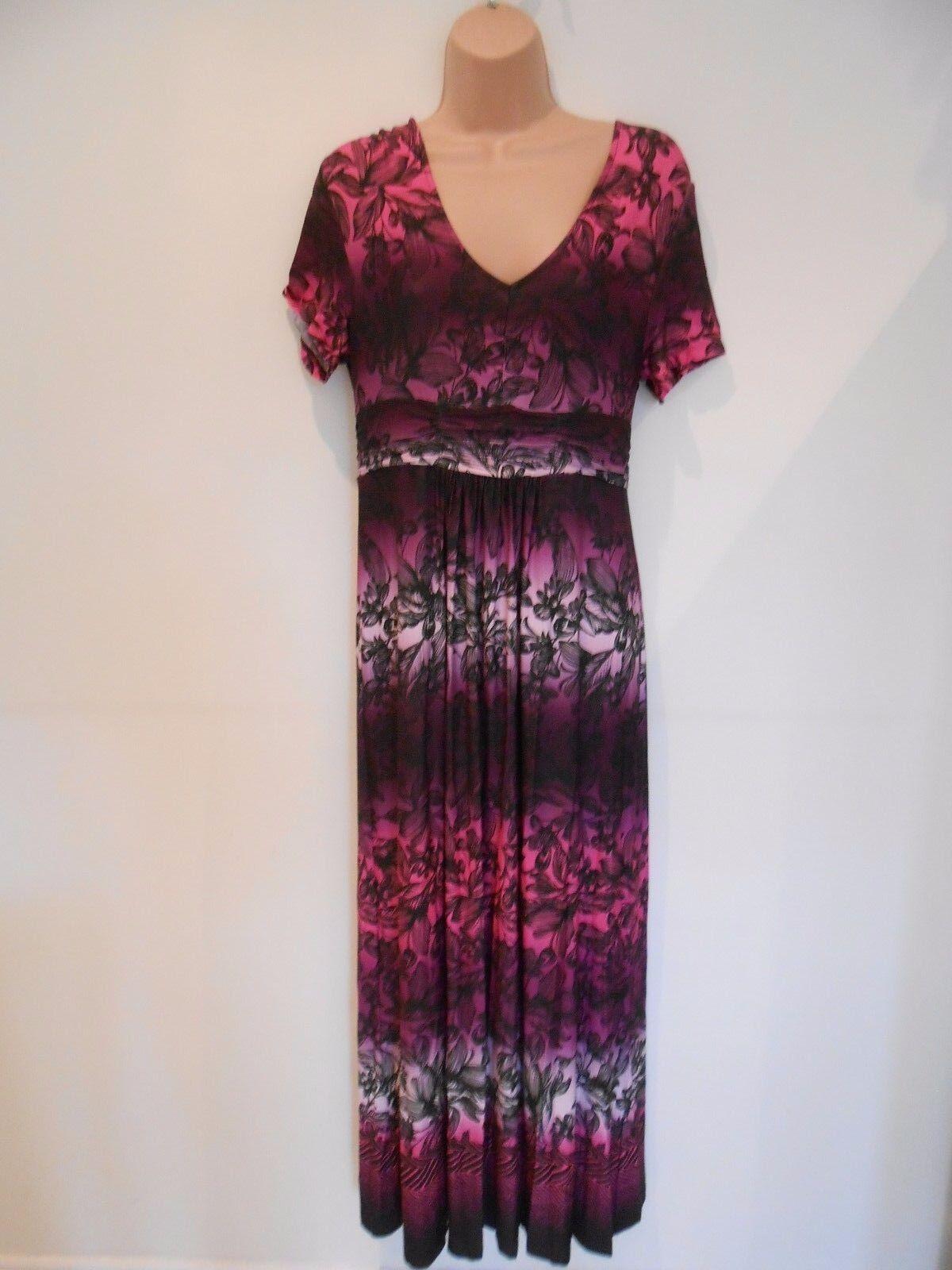 M&S Per Una Summer Holiday Printed Long Maxi Dress (NEW) Size 10 ()