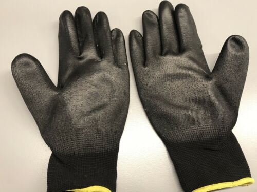 New Hyflex 48-101 Polyurethane Gloves Coated ANSELL Size 8 Home Industrial Work