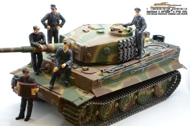 5-er Set résine figurine prêt PEINT 1:16 équipage du du du char réservoir NorFemmedie efaf86