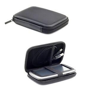 hard wallet for tomtom sat nav case start go 5200 520 52 25 via 53 5 39 39 gps ebay. Black Bedroom Furniture Sets. Home Design Ideas