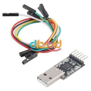USB-2-0-To-UART-TTL-6PIN-Module-De-Connecteur-Serial-Convertisseur-CP2102
