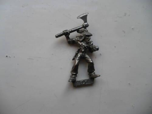 Citadel Warhammer classic 80s Elf Warrior Lenvmius oop