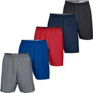 UNDER-ARMOUR-2019-MENS-UA-WOVEN-GRAPHIC-WORDMARK-SPORTS-FITNESS-GYM-SHORTS