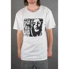 Analog Burton Runaway Slim Fit Skateboard T-shirt Tee White M NEW NWT Rt$34 Snow