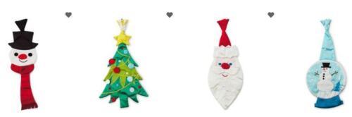 Hallmark CHRISTMAS Novelty Clip On  Themed Men/'s Tie ~ Choice ~  NEW