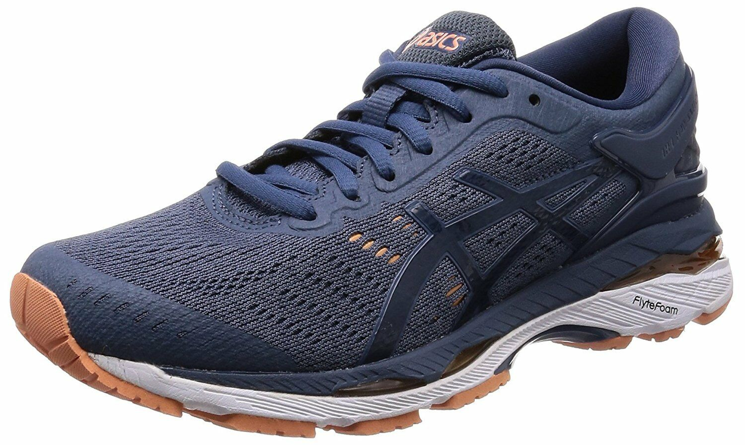 ASICS Running Shoes LADY GEL-KAYANO 24 Wide TJG759 Smoky Dark Blue US8Price reduction Seasonal clearance sale
