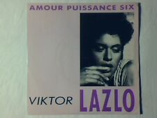 """VIKTOR LAZLO Amor puissance six 7"""" FRANCE SERGE GAINSBOURG COME NUOVO LIKE NEW!!"""