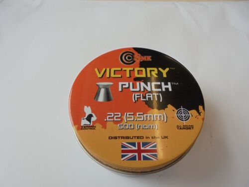 La VITTORIA Punch piatto PELLETS .22//5.5 mm x 500.