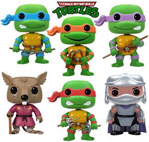 Teenage Mutant Ninja Turtles Pop Figure 6 Designs To