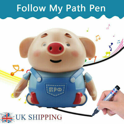 Creative Inductive Toy Pig Dinosaur With Magic Pen Educational Toy Xmas Gift