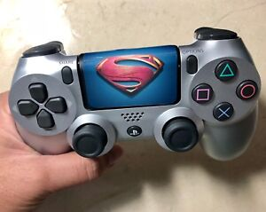 Superman-PS4-Playstation-4-Controller-Touchpad-Vinyl-Decal-Sticker