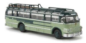 BREKINA-58063-Autobus-di-linea-Saurer-5GVF-U-Starline-colore-blu-verde-HO-1-87