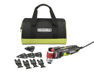 Rockwell RK5144K F65 (10) Piece 4-Amp Corded Oscillating Tool Kit -
