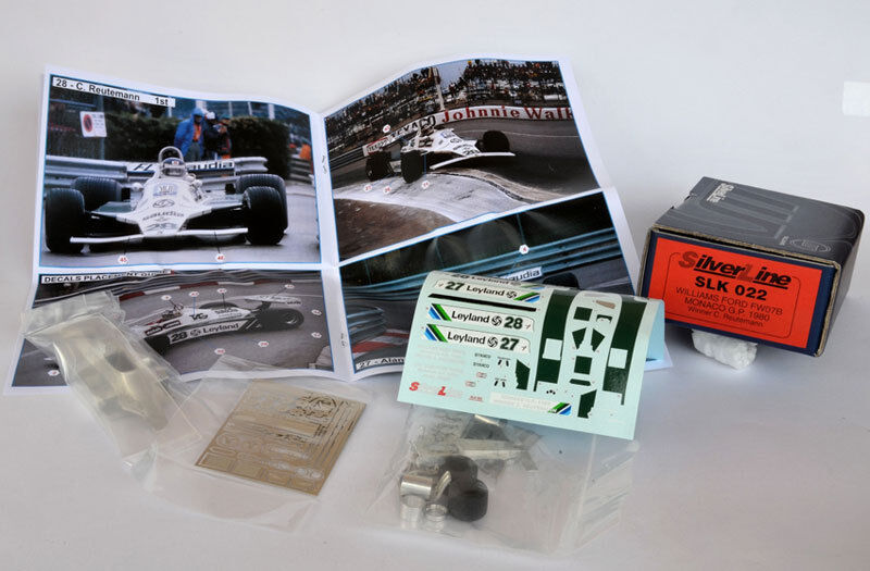 Tameo Kits Williams Ford FW07B GP Monaco 1980 Winner C. Reutemann SLK 022 1 43